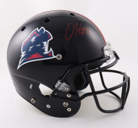 Damien Harris Signed Full-Size Authentic On-Field Helmet (Beckett Hologram) (See Description) at PristineAuction.com