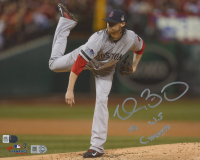 """Clay Buchholz Signed Red Sox 8x10 Photo Inscribed """"13 WS Champs"""" (Fanatics Hologram & MLB Hologram) at PristineAuction.com"""