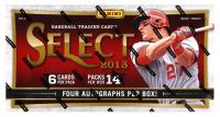 2013 Panini Select Baseball Hobby Box with (14) Packs (Factory Sealed) at PristineAuction.com