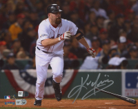 Kevin Youkilis Signed Red Sox 8x10 Photo (Fanatics Hologram & MLB Hologram) at PristineAuction.com