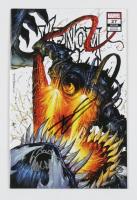 "Donny Cates  & Ryan Stegman Signed 2020 ""Venom"" Vol. 4 Issue #27 Tyler Kirkham Secret Variant Cover Marvel Comic Book (Unknown Comics COA) at PristineAuction.com"