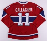 Brendan Gallagher Signed Canadiens Alternate Captain Jersey (COJO COA) at PristineAuction.com