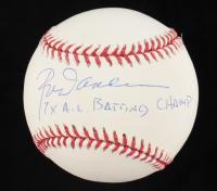 "Jose Canseco Signed OML Baseball Inscribed ""7x A.L. Batting Champ"" (Beckett COA & JSA Hologram) at PristineAuction.com"