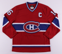 """Henri Richard Signed Canadiens Captain Jersey Inscribed """"11 Cups"""" (COJO COA) at PristineAuction.com"""
