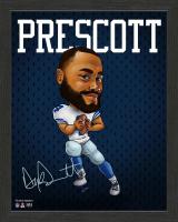 Dak Prescott Cowboys 13x16 Custom Framed Photo Display at PristineAuction.com