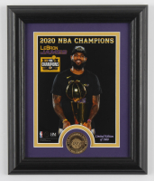 LeBron James Lakers LE 10x12 Custom Framed Photo Display at PristineAuction.com