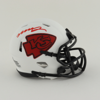 Mecole Hardman Signed Chiefs Lunar Eclipse Alternate Speed Mini Helmet (Beckett Hologram) at PristineAuction.com