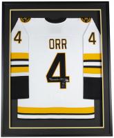 Bobby Orr Signed 32x36 Custom Framed Jersey Display (Beckett Hologram & Orr Hologram) at PristineAuction.com