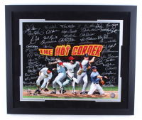 The Hot Corner 22x26 Photo Signed by (49) with Graig Nettles, Ray Knight, Evan Longoria, Mike Shannon, Charlie Hayes, Howard Johnson (MAB Hologram) at PristineAuction.com