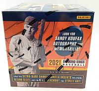 2021 Panini Diamond Kings Baseball Hobby Box with (12) Packs (Factory Sealed) at PristineAuction.com