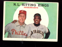 Willie Mays / Richie Ashburn 1959 Topps #317 NL Hitting Kings at PristineAuction.com