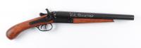 "Kiefer Sutherland Signed ""Young Guns"" Hollywood 1881 Street Howitzer Prop Shotgun (Radtke COA) (See Description) at PristineAuction.com"