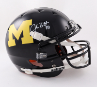 Jake Butt Signed Michigan Wolverines Full-Size Authentic On-Field Helmet (Beckett Hologram) (See Description) at PristineAuction.com