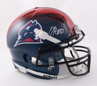Damien Harris Signed Full-Size Authentic On-Field Vengeance Helmet (Beckett Hologram) (See Description) at PristineAuction.com