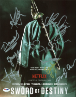 """""""Crouching Tiger, Hidden Dragon: Sword of Destiny"""" 11x14 Photo Cast-Signed by (8) with Michelle Yeoh, Woon Young Park, Harry Shum Jr., Eugenia Yuan (PSA LOA) at PristineAuction.com"""