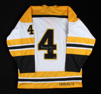 Bobby Orr Signed Custom Stitched Jersey (Orr COA) (See Description) at PristineAuction.com