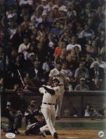 Barry Bonds Signed Giants 11x14.5 Photo (Bonds Hologram & JSA COA) (See Description) at PristineAuction.com