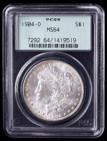 1904-O Morgan Silver Dollar (PCGS MS64) OGH at PristineAuction.com