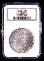 1896 Morgan Silver Dollar (NGC MS64) (Toned) at PristineAuction.com