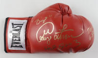 """George Foreman Signed Title Boxing Glove Inscribed """"76-5 68 KO's"""", """"Big"""", """"HOF 2003"""" (Beckett COA) at PristineAuction.com"""