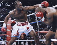 """Lennox Lewis Signed 16x20 Photo Inscribed """"2021"""" (JSA COA) at PristineAuction.com"""