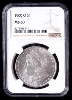 1900-O Morgan Silver Dollar (NGC MS63) at PristineAuction.com