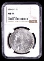 1904-O Morgan Silver Dollar (NGC MS64) at PristineAuction.com