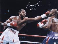 "Lennox Lewis Signed 16x20 Photo Inscribed ""2021"" (JSA COA) (See Description) at PristineAuction.com"