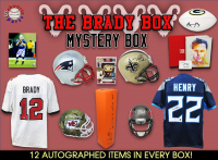 Schwartz Sports – THE BRADY BOX - Series 2 (Limited to 112) (12 Autograph Items per Box) Chase the TOM BRADY AUTOGRAPHS!!! at PristineAuction.com