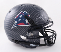 Damien Harris Signed Full-Size Hydro-Dipped Helmet (Beckett Hologram) (See Description) at PristineAuction.com