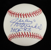 "Juan Marichal Signed OML Baseball Inscribed ""HOF 83"" (JSA COA) at PristineAuction.com"