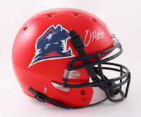 Damien Harris Signed Full-Size Helmet (Beckett Hologram) (See Description) at PristineAuction.com