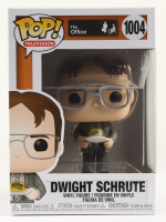 """Dwight Schrute with Gelatin Stapler - """"The Office"""" - Television #1004 Funko Pop! Vinyl Figure at PristineAuction.com"""