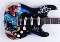 "Brad Paisley Signed 39"" Hunington Electric Guitar (JSA Hologram) (See Description) at PristineAuction.com"