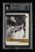 Jack Nicklaus Signed  2001 Upper Deck #117 GB 73 PGA (BGS Encapsulated) at PristineAuction.com