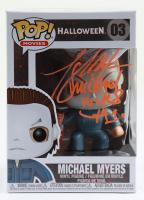 "Tony Moran Signed ""Halloween"" #3 Michael Myers Funko Pop! Vinyl Figure Inscribed ""Michael Myers H1"" (Legends COA) (See Description) at PristineAuction.com"