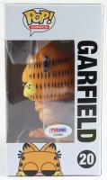 "Jim Davis Signed ""Garfield"" #20 Garfield Funko Pop! Vinyl Figure (PSA COA) at PristineAuction.com"