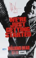 "Jeffrey Dean Morgan Signed ""The Walking Dead"" 11x17 Photo Inscribed ""Negan"" (Radtke COA) at PristineAuction.com"