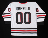 """Chevy Chase Signed """"National Lampoon's Christmas Vacation"""" Hockey Jersey (Beckett COA & Chase Hologram) (See Description) at PristineAuction.com"""