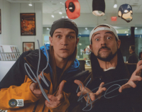 """Kevin Smith & Jason Mewes Signed """"Jay and Silent Bob"""" 8x10 Photo (Beckett COA) at PristineAuction.com"""