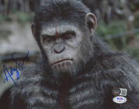 """Andy Serkis Signed """"Rise of the Planet of the Apes"""" 8x10 Photo (Beckett COA & PSA COA) at PristineAuction.com"""
