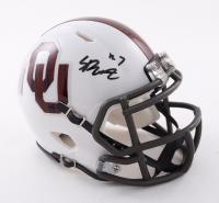 Spencer Rattler Signed Oklahoma Sooners Speed Mini Helmet (PSA COA) at PristineAuction.com