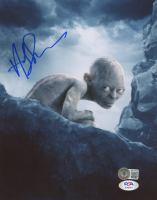 """Andy Serkis Signed """"The Lord of the Rings"""" 8x10 Photo (Beckett COA & PSA COA) at PristineAuction.com"""