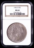 1902-O Morgan Silver Dollar (NGC MS64) (Toned) at PristineAuction.com