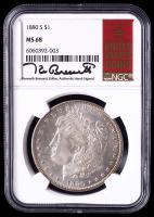 1880-S Morgan Silver Dollar (NGC MS68) at PristineAuction.com