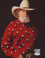 Charlie Daniels Signed 8x10 Photo (Beckett COA & PSA COA) at PristineAuction.com