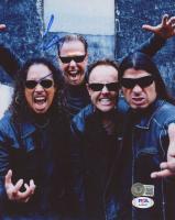 "Lars Ulrich Signed ""Metallica"" 8x10 Photo (Beckett COA & PSA COA) at PristineAuction.com"