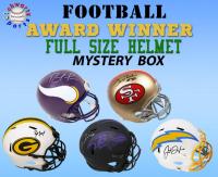 Schwartz Sports Football Award Winner Signed Full-Size Helmet Mystery Box Series 5 (Limited to 100) (EVERY HELMET IS SIGNED BY AN AWARD WINNER!!) at PristineAuction.com