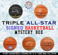 Schwartz Sports TRIPLE ALL-STAR SIGNED BASKETBALL MYSTERY BOX – Series 2 (Limited to 75) (EVERY BASKETBALL IS SIGNED BY A 3+ TIME NBA ALL STAR!!!!) at PristineAuction.com