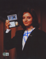 """Jodie Foster Signed """"The Silence of the Lambs"""" 8x10 Photo (Beckett COA) at PristineAuction.com"""